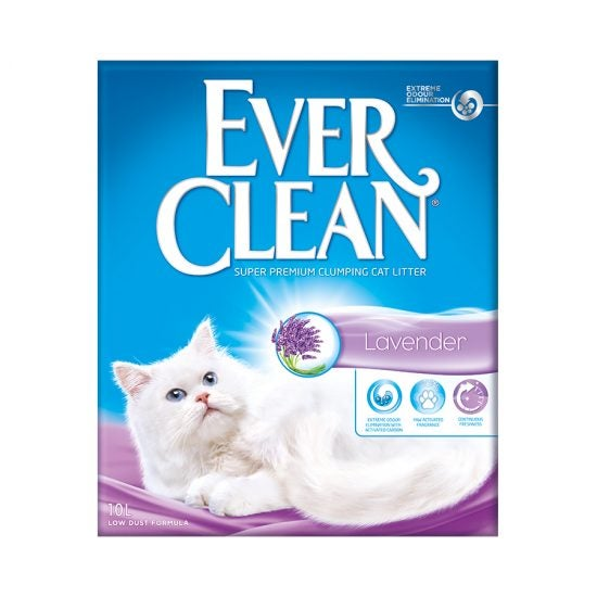 Ever Clean Super Premium Clumping Cat Litter Lavender Scent Product Front Image