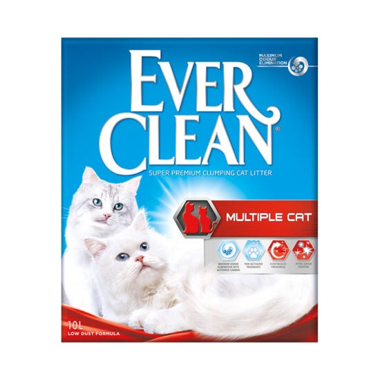 Ever Clean Super Premium Clumping Cat Litter for Multiple Cats Product Front Image
